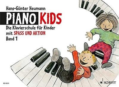 Piano Kids – die Klavierschule für Kinder mit Spaß und Aktion