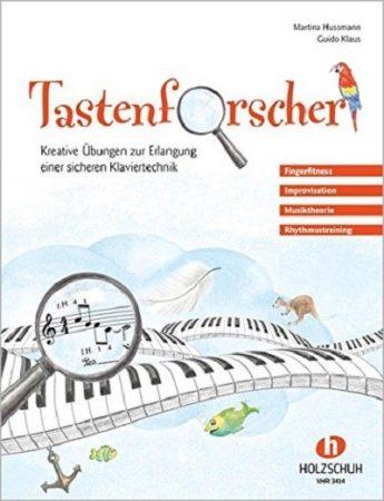 Tastenforscher Klavierschule Cover