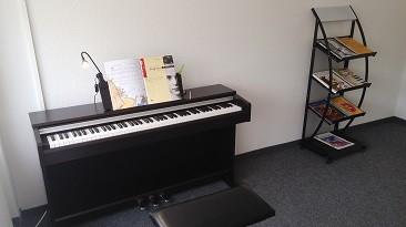 Klavier in Musikschule Maestro